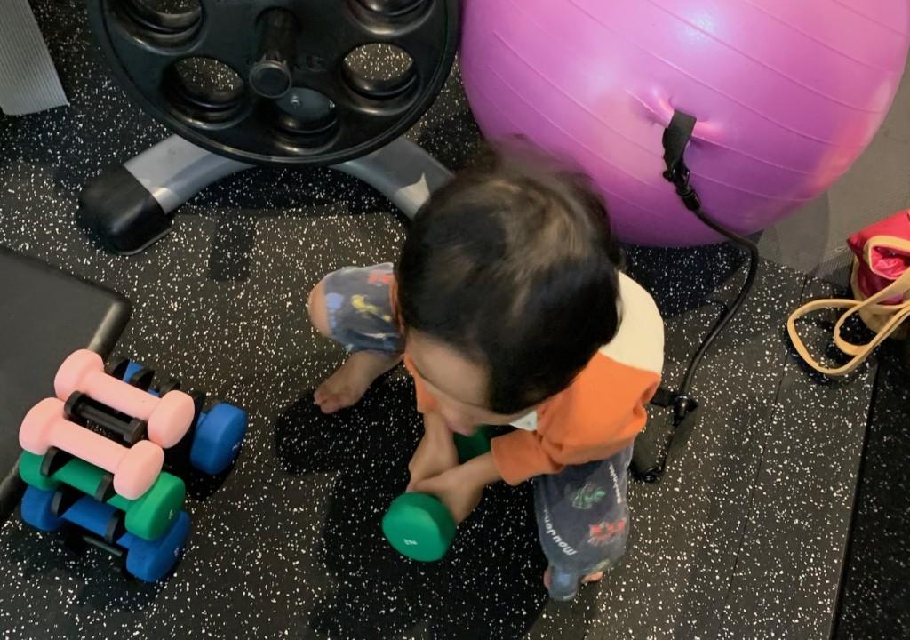 ダイエット特化型パーソナルトレーニングジムのお子様情報